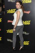 Sophie Simmons - The Last Stand premiere in Hollywood 01/14/13