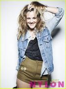 Drew Barrymore-Nylon Magazine August 2010