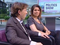 Julia Hartley-Brewer - Busty, Tight Top - Politics Show