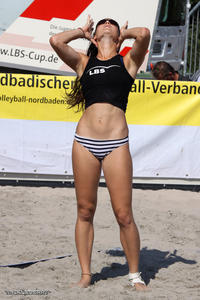 beach volleyball Candid