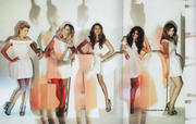 Girls Aloud-Ten The Hits Tour 2013 Tourbook scans+wallpapers