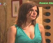 Susana Mendes sexy na novela Perfeito Coração